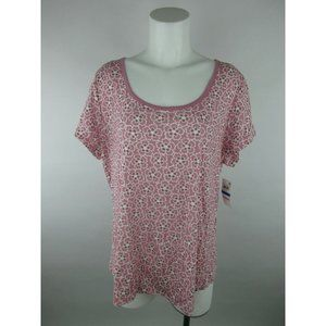 Charter Club Intimates NEW Cotton Floral T-Shirt